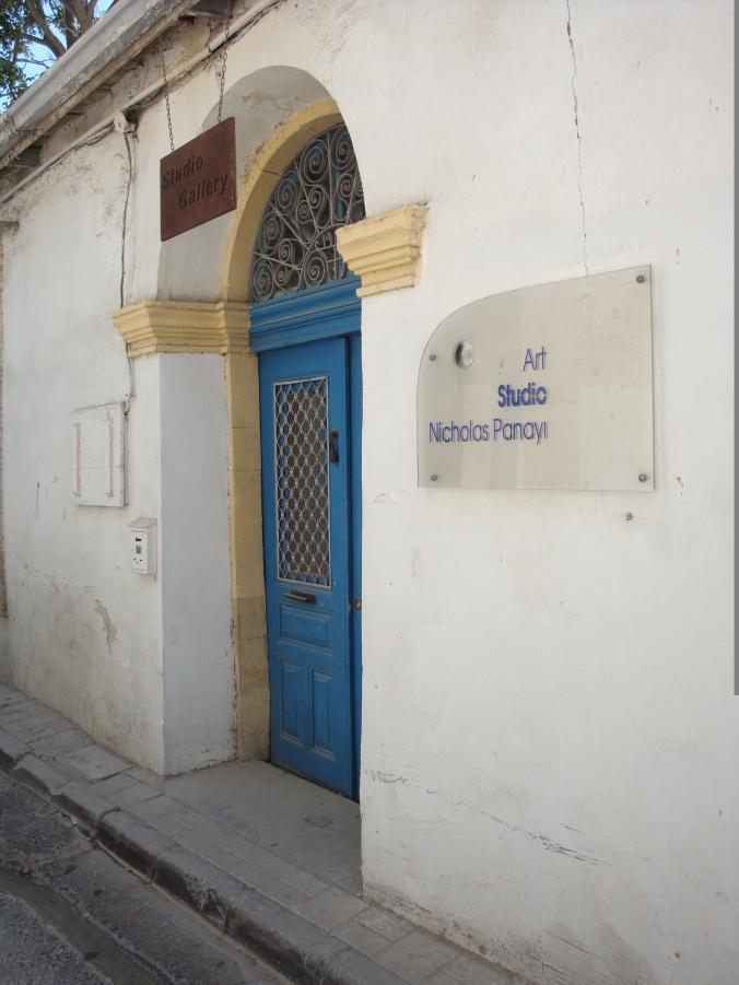 Nicholas Panayi Art Studio