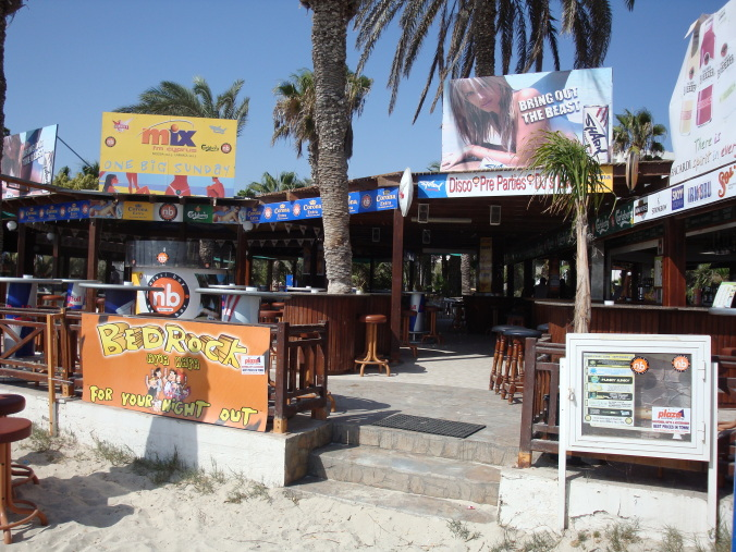Nissi Bay Beach Bar