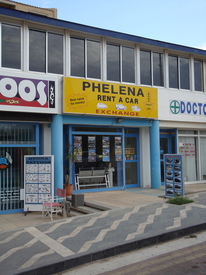 Phelena Rent a Car Ltd