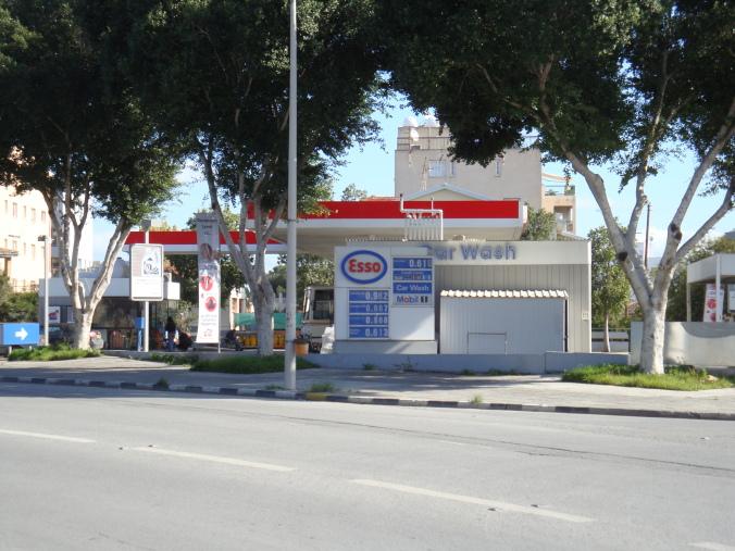 Esso Petrol Station