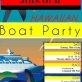 The Ultimate Hawaiian Boat Party