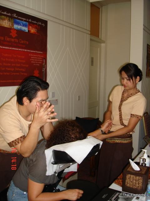 Demo massages at MBS