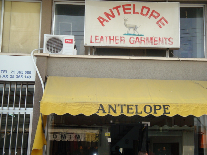 Antelope Leather Garments