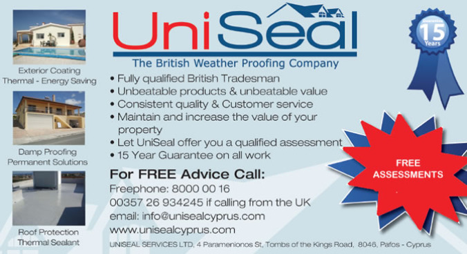 Uniseal Cyprus (Closed)
