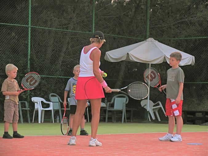 Sacha Appleton - Paphos Tennis Coach