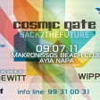 Cosmic Gate - Emma Hewitt - Wippenberg - Live in Cyprus!