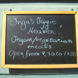 inga's Veggie Heaven Sign
