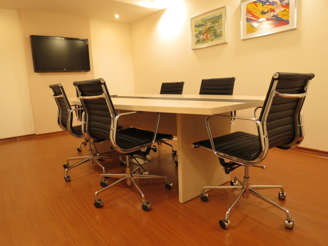 Ecastica Serviced Office Conference Room