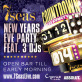 New Year's Eve Party 2013 ->2014 @ 7 Seas