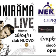 ONIRAMA Live at Club Nuovo!