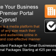 Promote your business on the premier portal about Cyprus!