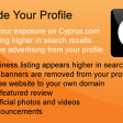 Upgrade your business profile for increased exposure!