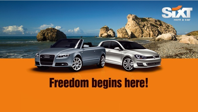 Sixt Rent A Car - Car Hire in Cyprus